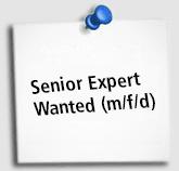 Stellenangebot Seniorexpert